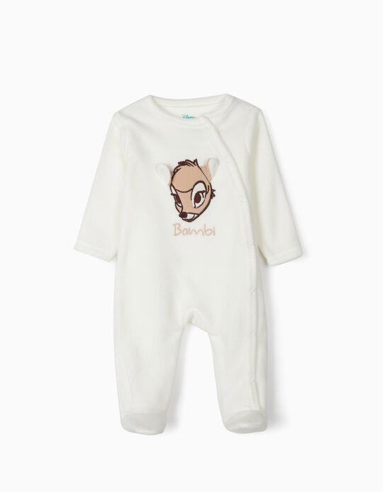 Babygrow Polar para Bebé 'Bambi', Branco