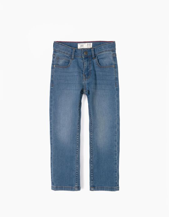 Pantalón Vaquero para Niño 'Regular Fit', Azul
