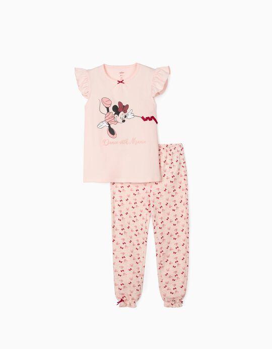 Pijama para Niña 'Dance with Minnie', Rosa
