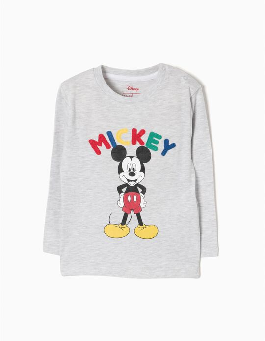 Camiseta de Manga Larga Mickey