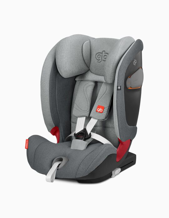 Silla para Coche Gr 1/2/3 Everna Fix GB  London Light Grey