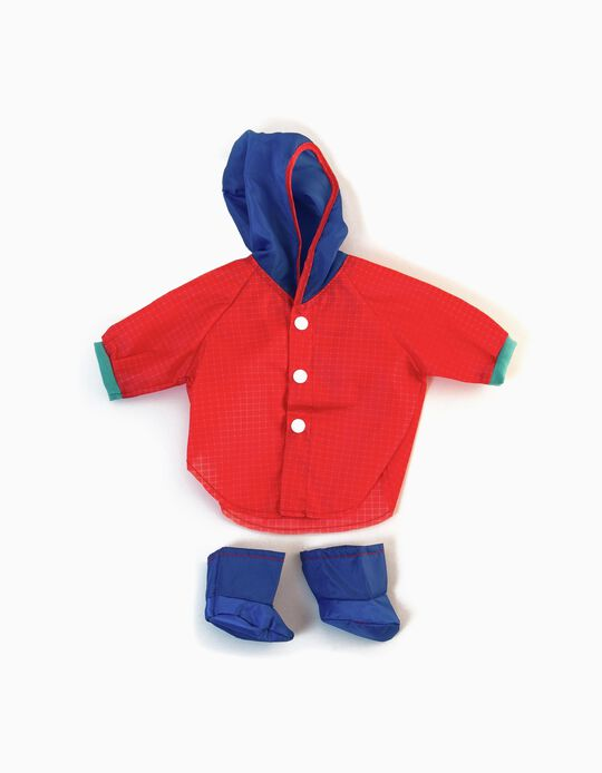 Outfit Para Chuva 40 cm Miniland
