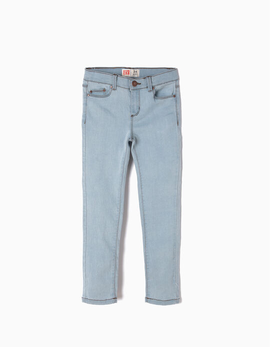 Skinny Jeans for Girls, Light Blue