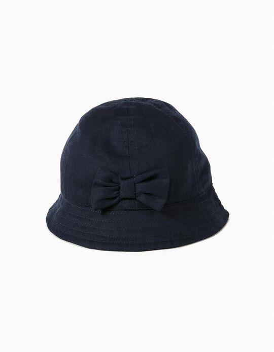 Sombrero con Lazo Azul