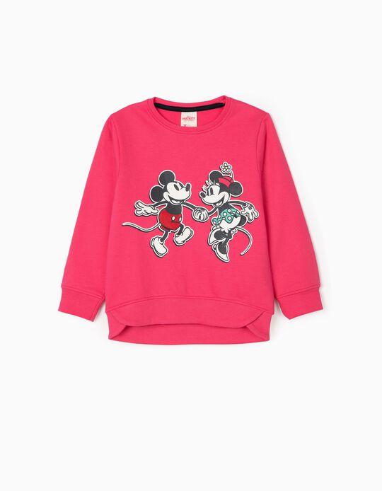 Sudadera para Niña 'Mickey & Minnie', Rosa