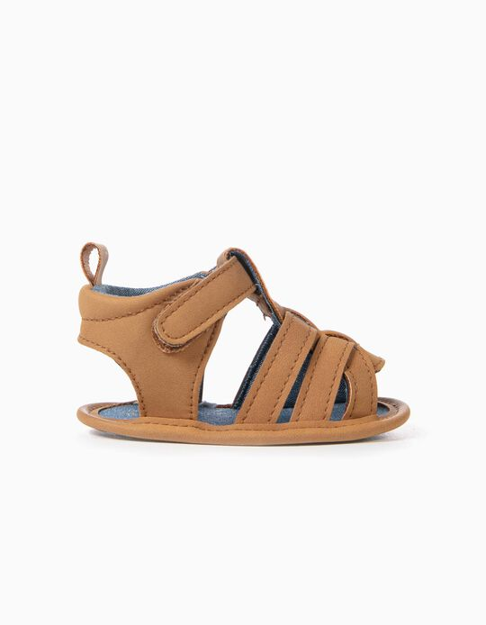 Sandálias para Menino, Camel
