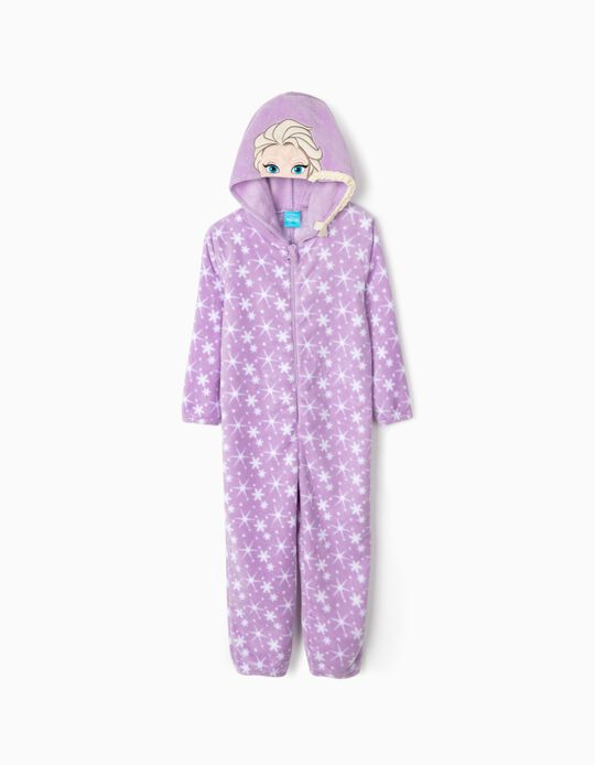 Pijama Mono para Niña 'Frozen', Violeta
