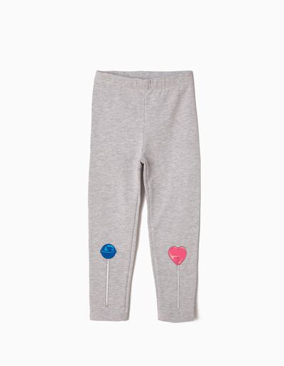 Leggings Lollipop Cinzentas