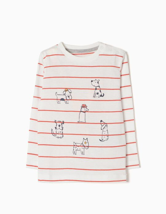 T-shirt Manga Comprida Dogs