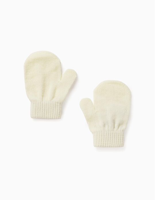 Mittens for Babies, White