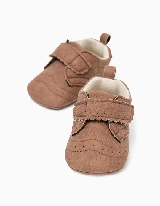 Shoes for Newborn Baby Boys, Brown