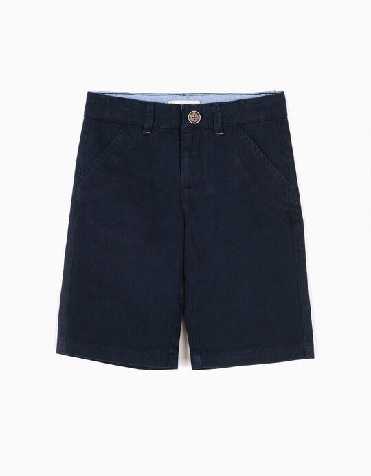 Short Niño Azul Oscuro B&S