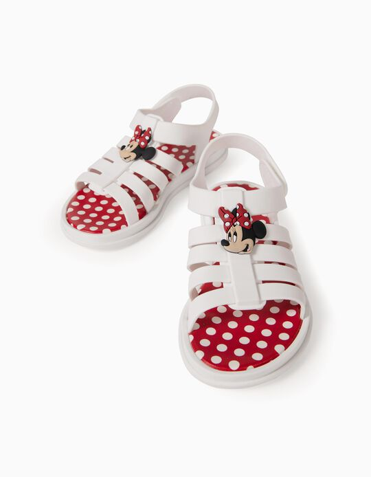 Sandales fille 'Minnie ZY Delicious', blanc