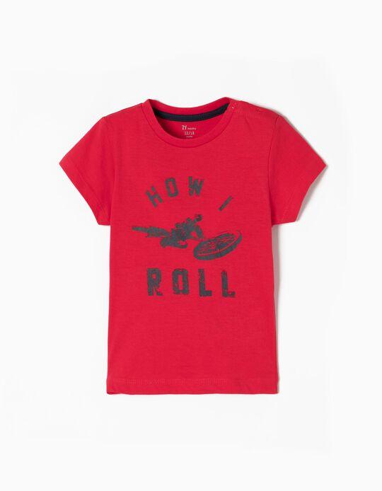 T-shirt How I Roll