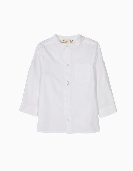 Camisa Bebé Niño Blanca B&S