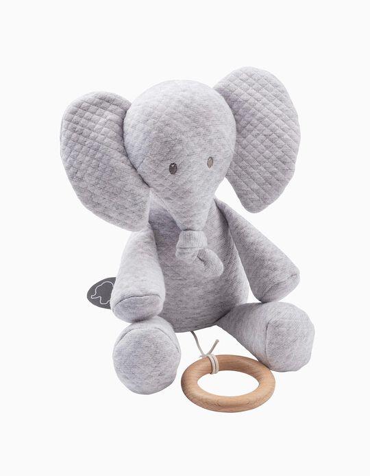 Musical Toy Tembo Elephant Jacquard Nattou