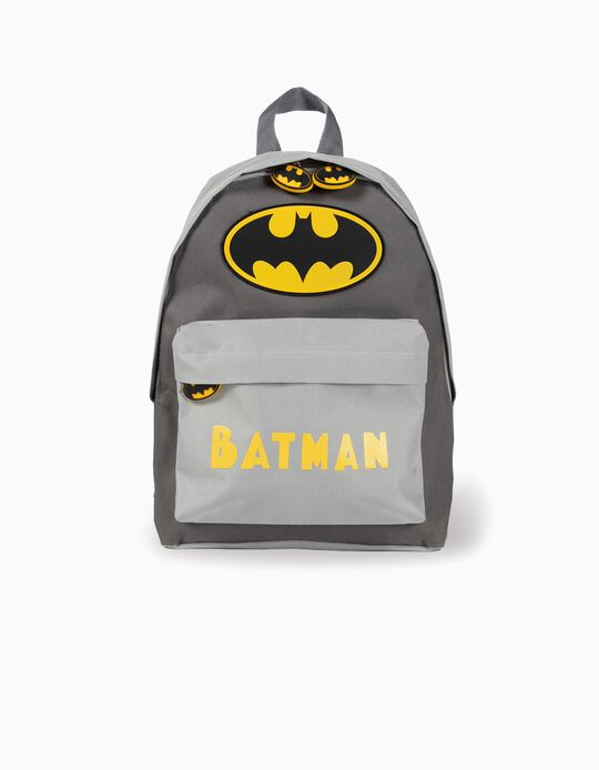 Backpack for Kids 'Batman', Grey