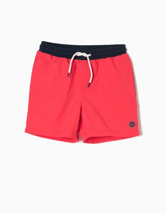 Bañador Short Rojo