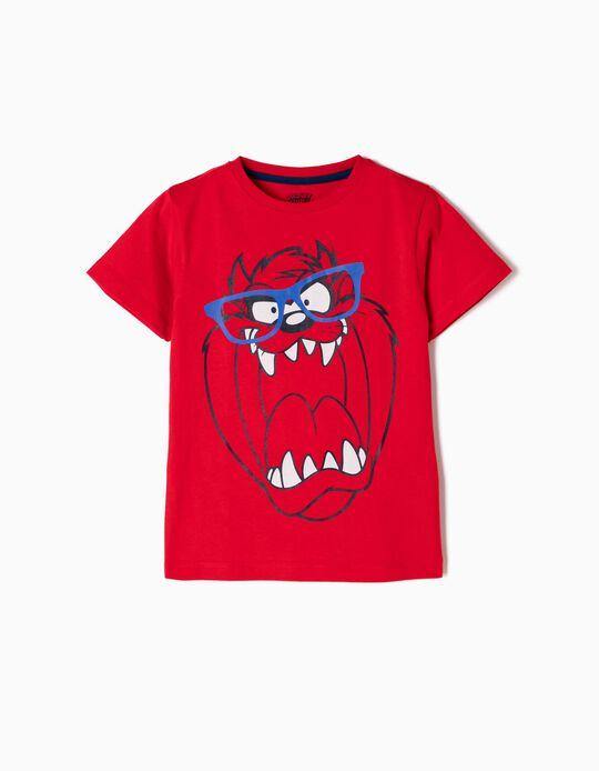 Camiseta Taz Roja