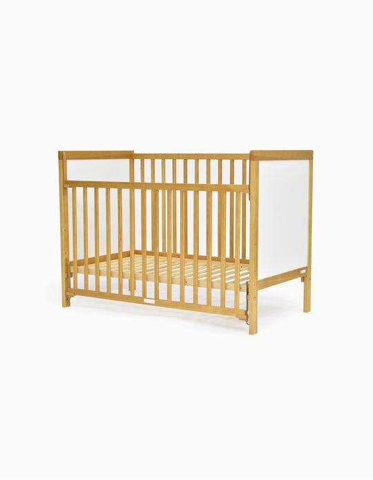 Lit Baby Dream Zy Baby blanc 120x60cm