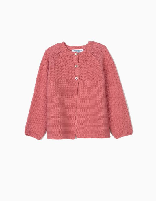 Cardigan for Baby Girls 'B&S', Pink
