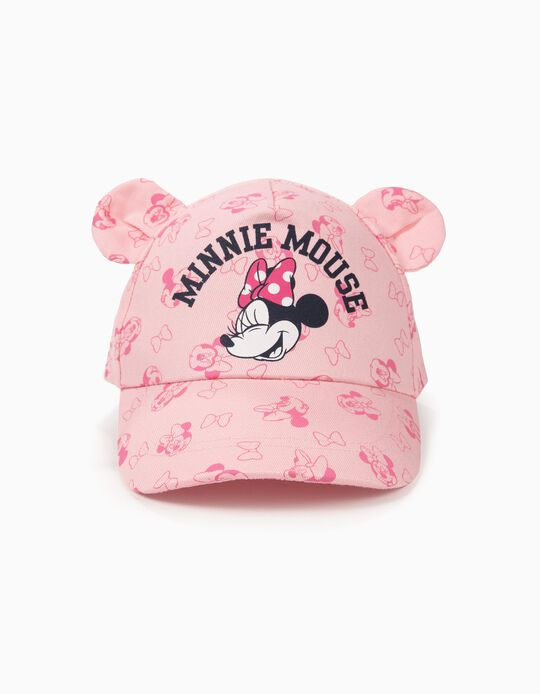 Boné para Bebé Menina 'Minnie Mouse', Rosa