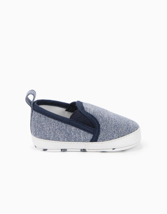Zapatillas Slip-on Azules