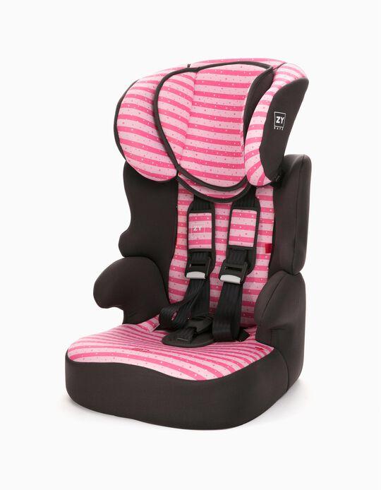 Silla para Coche Gr 1/2/3 Izzygo Plus Zy Safe Stars Pink