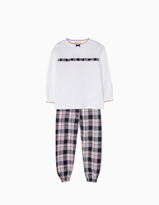 Pijama Niña Ajedrez B&S