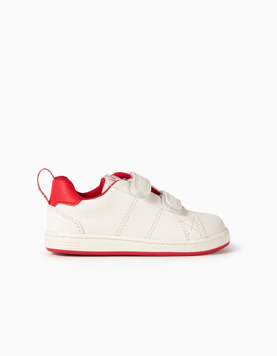 Trainers for Babies 'ZY 1996', White/Red
