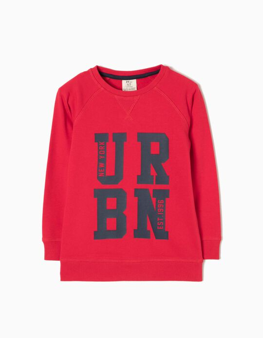 Sudadera New York Roja