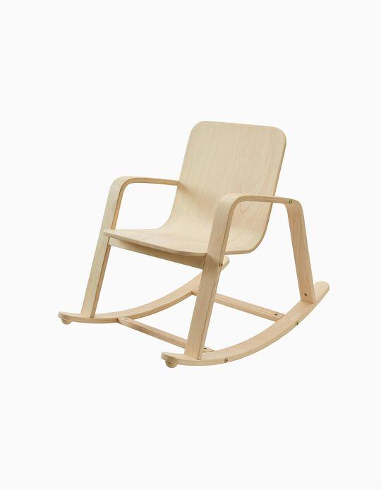 Cadeira De Balanço Em Madeira Plan Toys 3A+