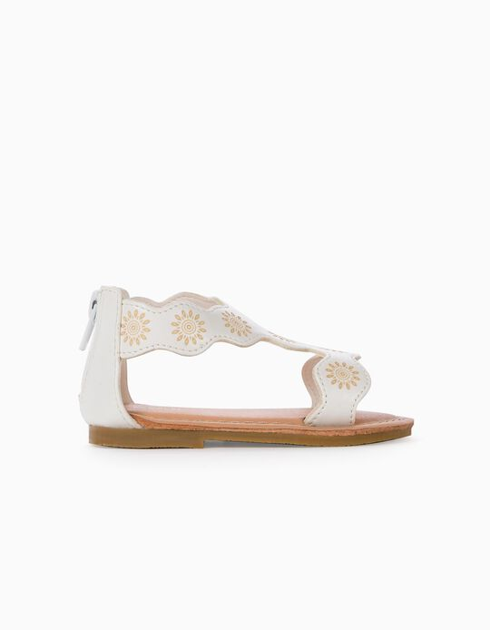 Sandals for Baby Girls, White
