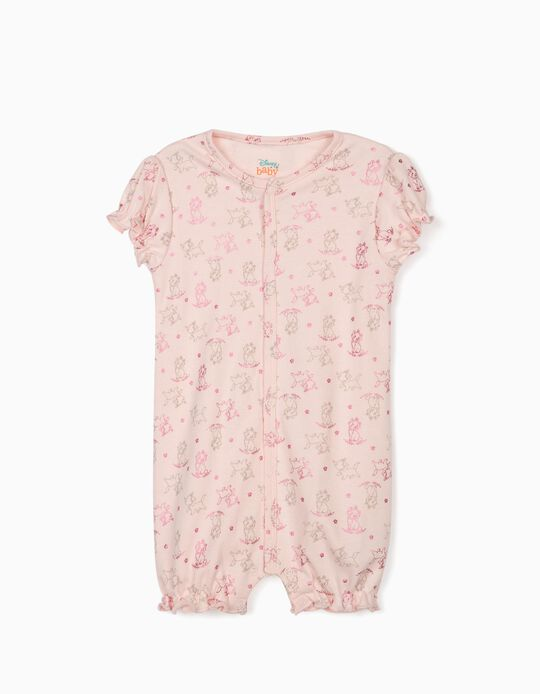 Sleepsuit for Baby Girls, 'Marie', Pink