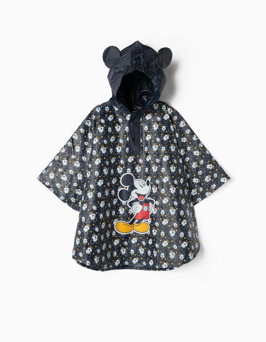 Capa de Lluvia para Niño 'Mickey', Azul Oscuro