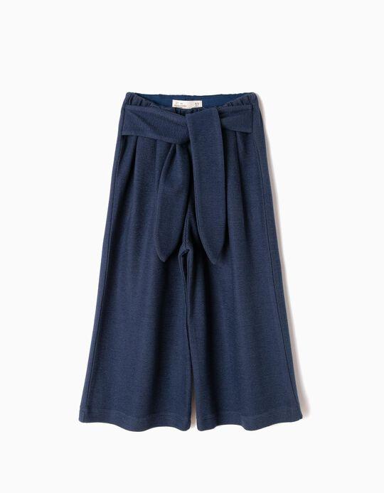Pantalón Ancho Azul