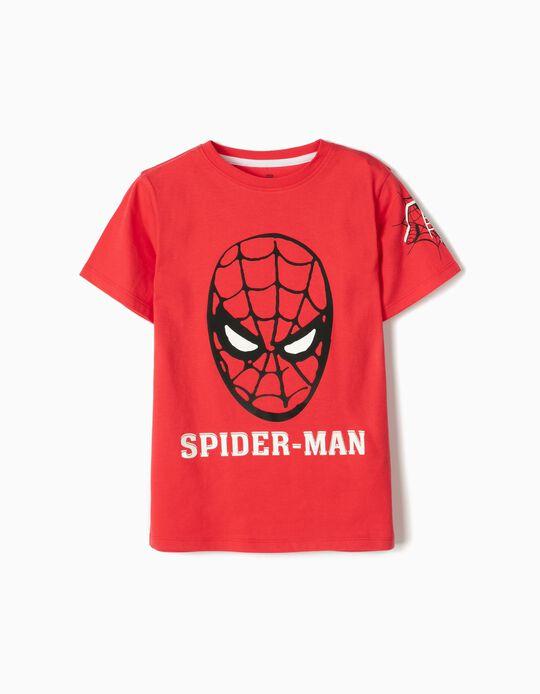 Camiseta para Niño 'Spider-Man', Roja