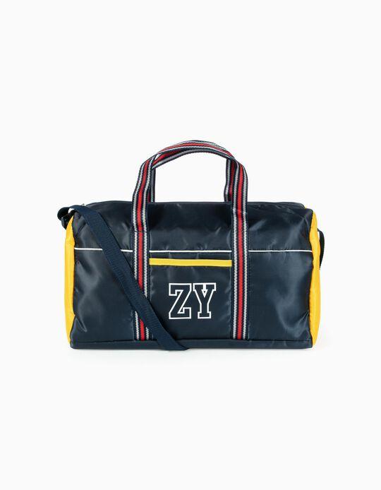 Saco de Desporto para Menino 'ZY', Azul Escuro