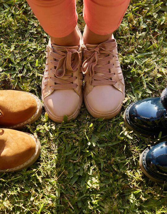 Zapatillas para Niña 'Volantes', Rosa
