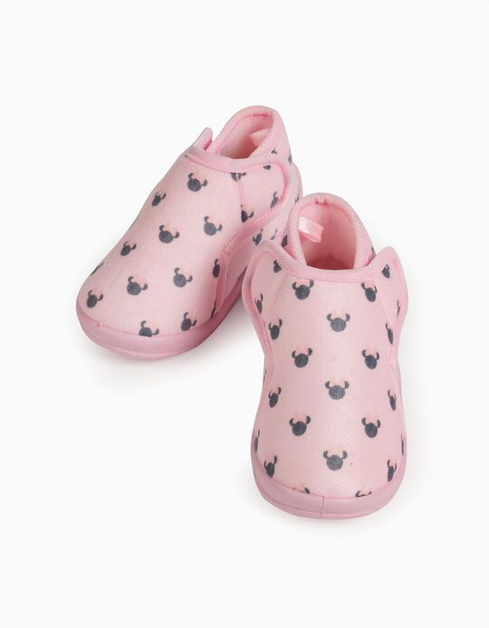 Slippers for Baby Girls, 'Minnie Mouse', Pink