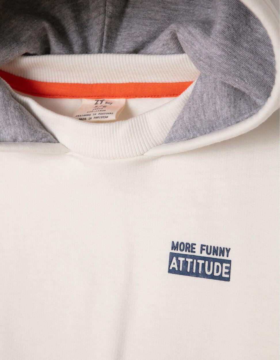 Sudadera Estampada Attitude