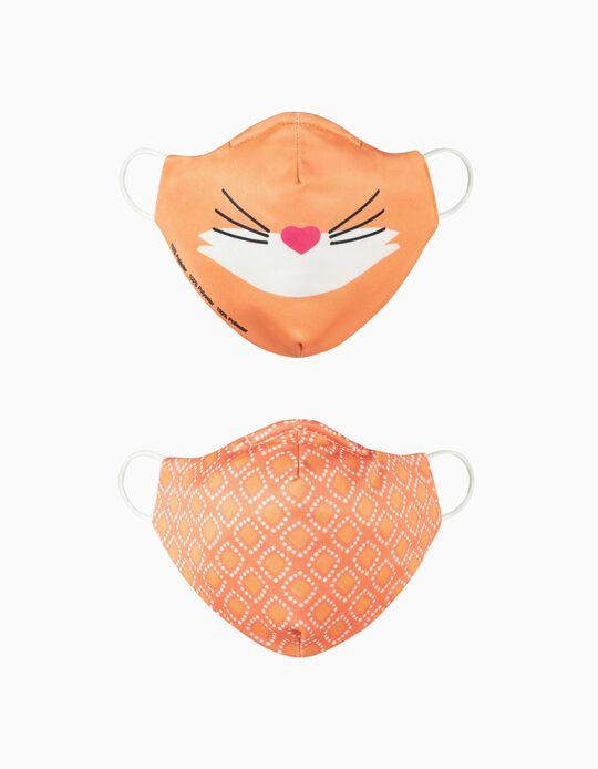 2 Máscaras Criança 'Air' - Nível 3, Raposa e Losangos