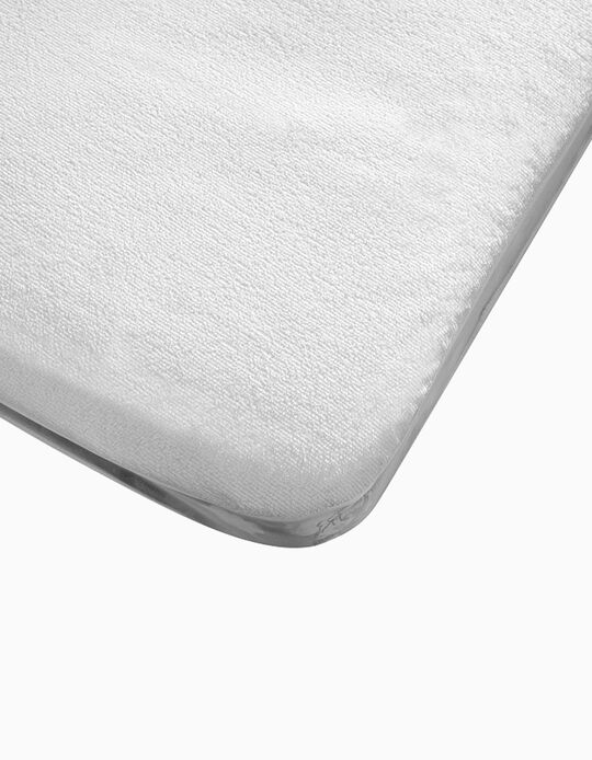 Waterproof Matress Protector for 120x60cm Beds Interbaby, White