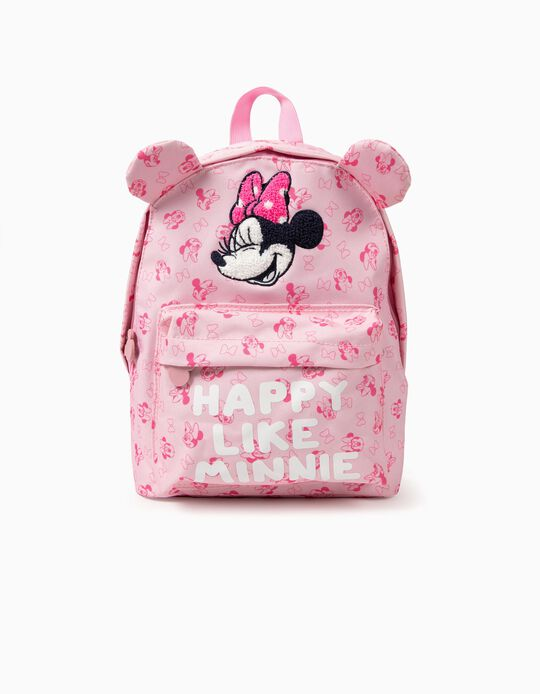 Mochila para Menina 'Happy Minnie', Rosa