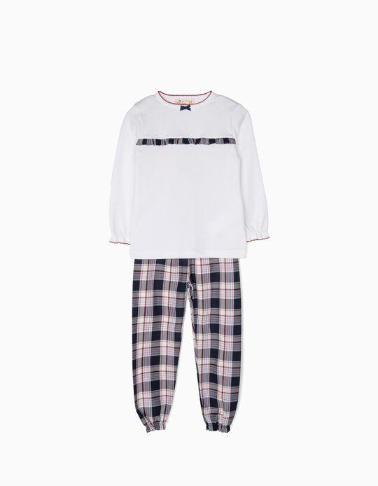 Pijama Menina Xadrez B&S