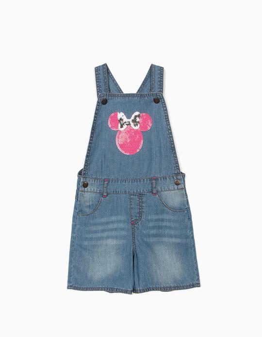 Peto Short para Niña 'Minnie', Azul