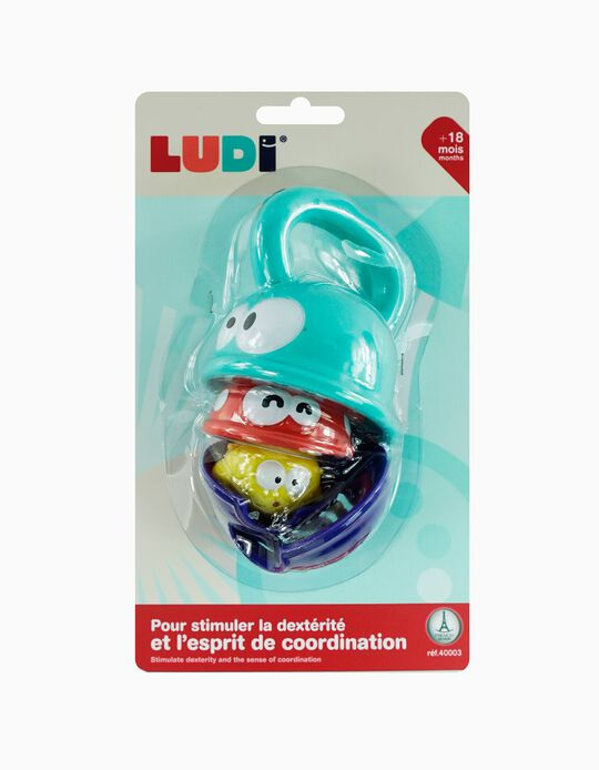 Brinquedo de banho 3 Fish Ludi