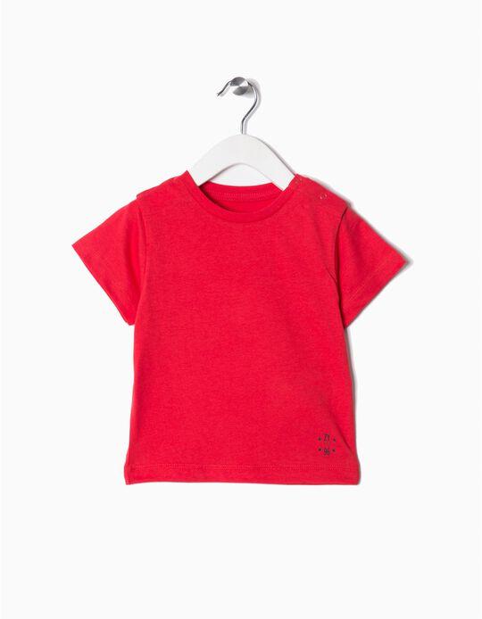 T-shirt Básica Vermelho