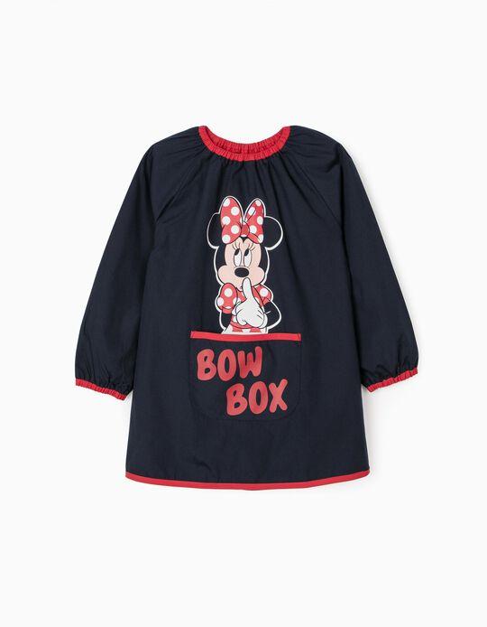 Bata Escolar para Niña 'Minnie', Azul Oscuro