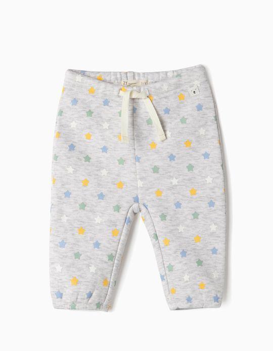Pantalón para Recién Nacido 'Stars', Gris